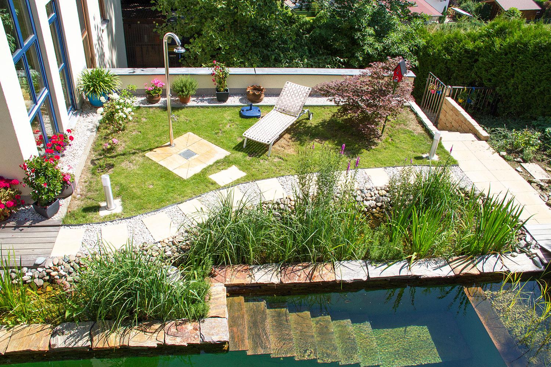 Einfache Gartengestaltung Von Der Ein De Zur Gr Nen Oase Rosen Und